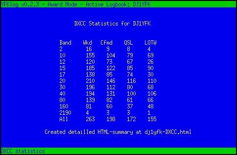 YFKlog - a ham radio logbook written in Perl